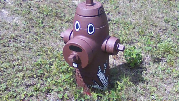 Fire hydrant - Beaver by chassi93