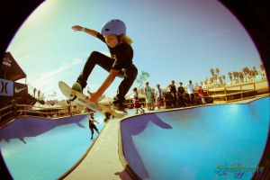 Kid SHREDDING at US Open by JennyLynnPhotography