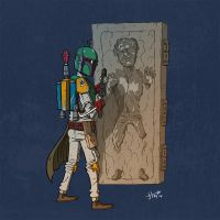Boba Fett by stayte-of-the-art