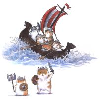 Hamsterboat - w bonus vikings by emla