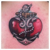 heart anchor by sliceman424