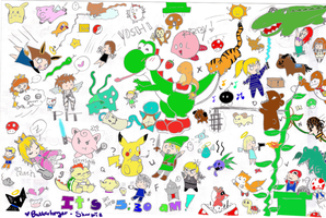 CRAZY PICTURE SEARCH O: by Butterfinger-Sharpie