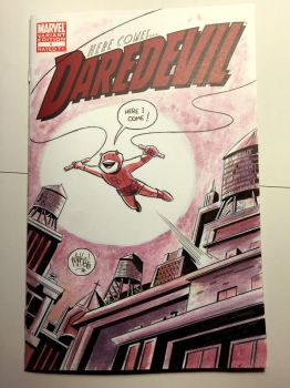 Daredevil Sketch Cover by mikemaihack