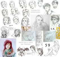Sketches 59 by Angiecla