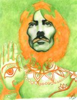George Harrison by argentinian-queen