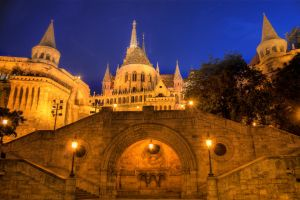 Budapest, Matei Corvin's Cathedral 1 by mariustipa
