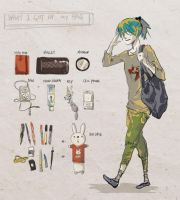 my bag by fredericayang
