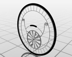 Monkey Wheel -animated by A-grael