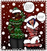 Merry Christmas from Kish and Rima!! by jazzy2cool