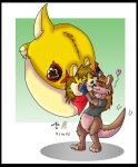 -G- Puffy kisses by wolfcub