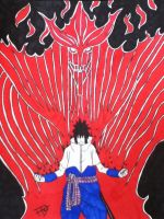 Sasuke Susanoo by Tonnie95
