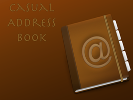 Casual Address Book Icon by No-1-Balla