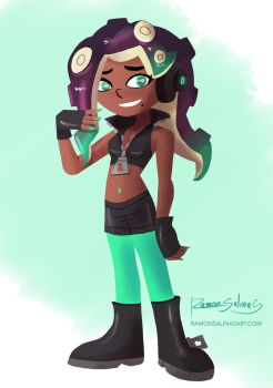 Splatoon 2 Marina by ShadowGear65