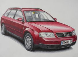 Audi A6 Avant by nessi6688