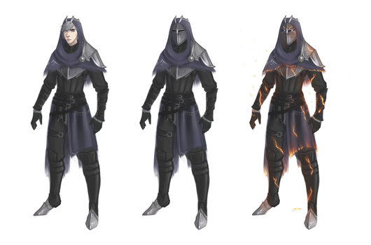 Armour concept art (part 2) by AetasRazael134