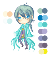 New OC: Peter Agua by Balance-Song