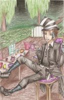 Demyx in Wonderland by squirrely-chan