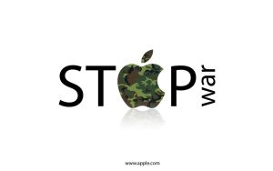 Stop War Wallpaper by simcomeau