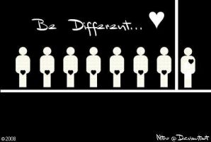 Be Different.. by filipegil