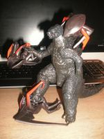 Toys - Gojira, MUTO Slayer! by Burninggodzillalord