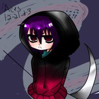 [Point Adopt] Hoodie Shinigami Chibi [CLOSED] by AcesBlitz