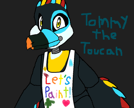 OC Challenge: Tommy the Toucan  (Updated) by PokeMichelle27