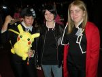 Anime Crossroads 2011: DTK, Pikachu, Ed, and Izaya by snowcloud8