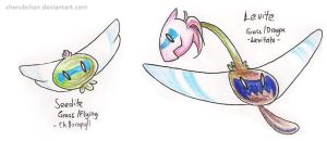 Fakemon: Seedite, Levite by cherubchan