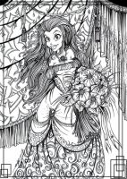 Mira with Flowers by zorm