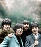 The Beatles by berds