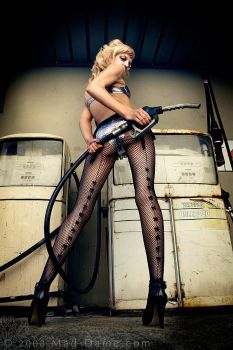 Ding Ding - Petrol Please by mad-dame