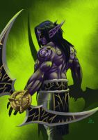 Illidan Stormrage:Demon Hunter by hupao