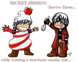 DMC4 Secret Mission by Cutish
