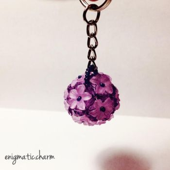 Purple Flower Ball by enigmatic-charm