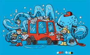 Octopus Car Wash by nickv47