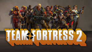 Team Fortress 2 Female Classes Group Wallpaper by wyrdmaker