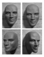 WIP:One Sixth Scale Headsculpt by cbgorby