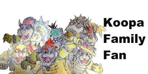 Koopa family fan by Vyel