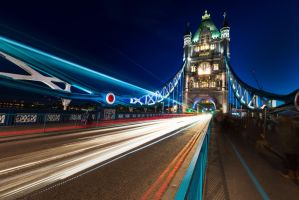 London on Tower Bridge by alierturk