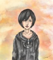 Xion (kingdom hearts) speed paint by taechan987