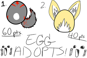 Egg Adopts (CLOSED) by MyseriousMystogan