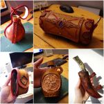 Leather accesoirs by SchmiedeTraum