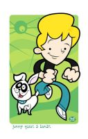 Jonny Quest and Bandit by Montygog