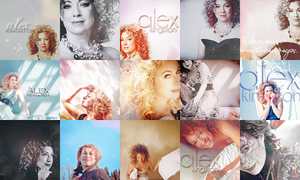 Alex Kingston Icons by x-hellosweetie