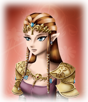 Zelda Portrait by Ice-P-Z