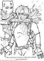 RE: Leon Colouring Page by Boom-Pop-Ping