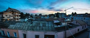 Sunset Panoroma, Pink Mood. by g25driver