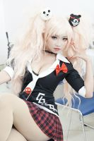 Hope and hopelessness become one - Junko Enoshima by MonicaWos