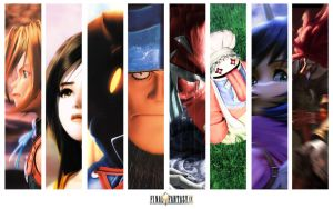 Final Fantasy IX tribute wall by Nao-Chan-91