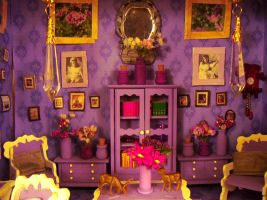 The Mauve Room of 1914 by Artzy-chick